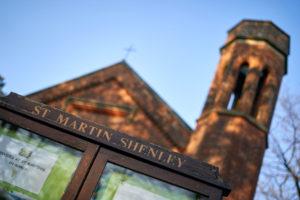 Photo St Martin Shenley Church