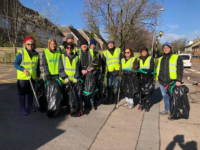 Photo 3 Action for a Cleaner Shenley 1 March 2020 The Team