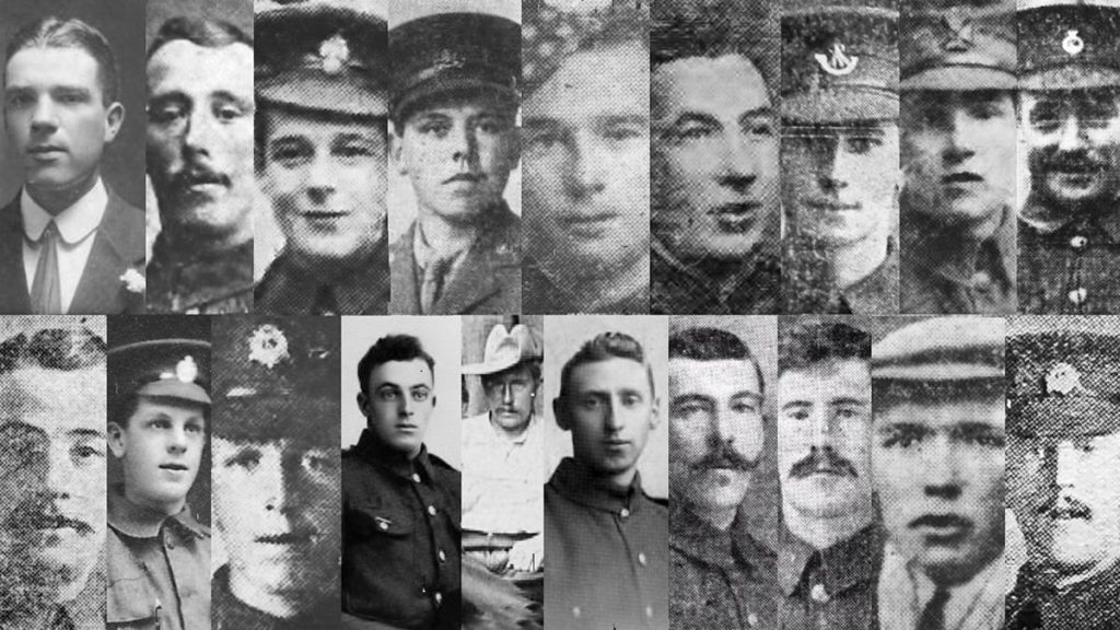 Photo 3 Shenley's Young Men Killed In Action