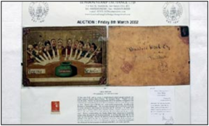 Photo of Oldest Postcard (for WI Article)
