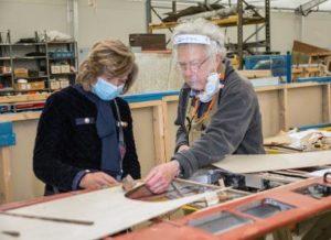 De Havilland Aircraft Museum Restoration by Volunteer