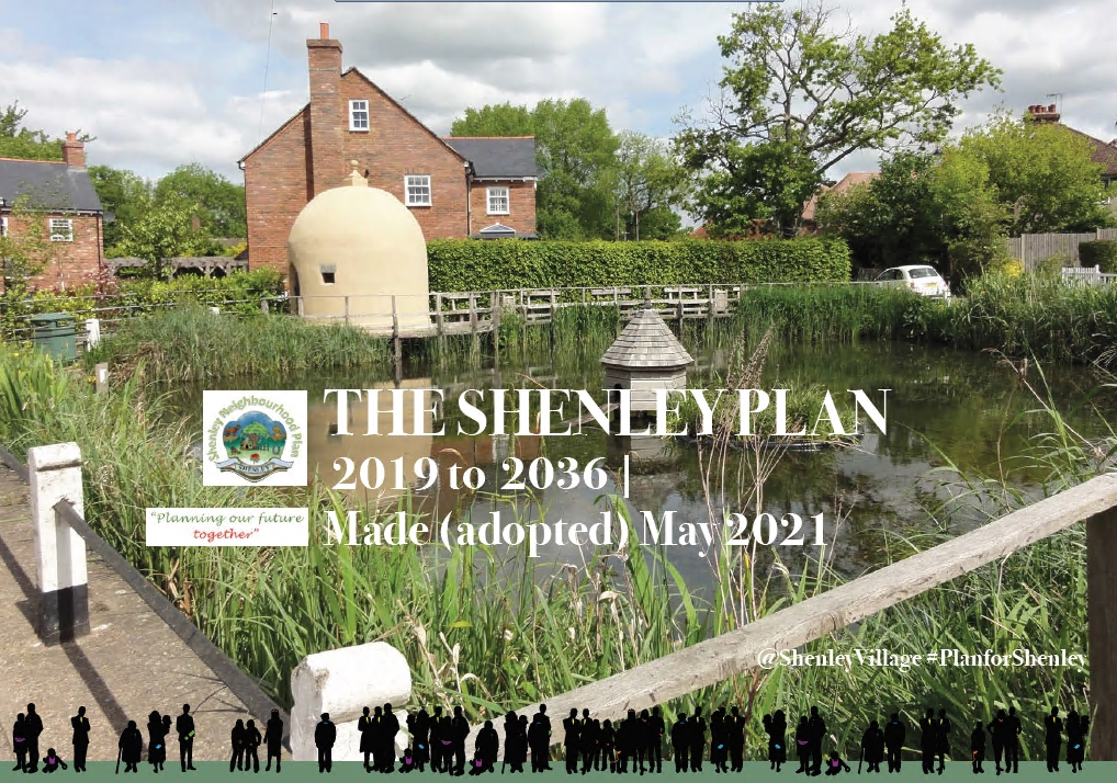 Front page of Shenley Plan 2019 - 20236 pdf file